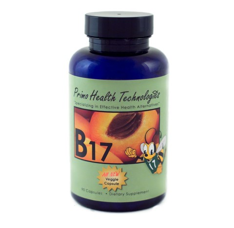 B17 Vitamin 500mg - 90 capsules From Apricot Kernels