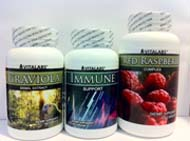 Natural Cancer Fighting Package - Graviola, Red Raspberry, & Immune Support