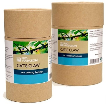 Cat's Claw Tea Bags - 2000mg (40 bags)
