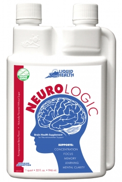 Neurologic Liquid Health 32 oz - Brain Health Supplement For Neurotransmitter Su